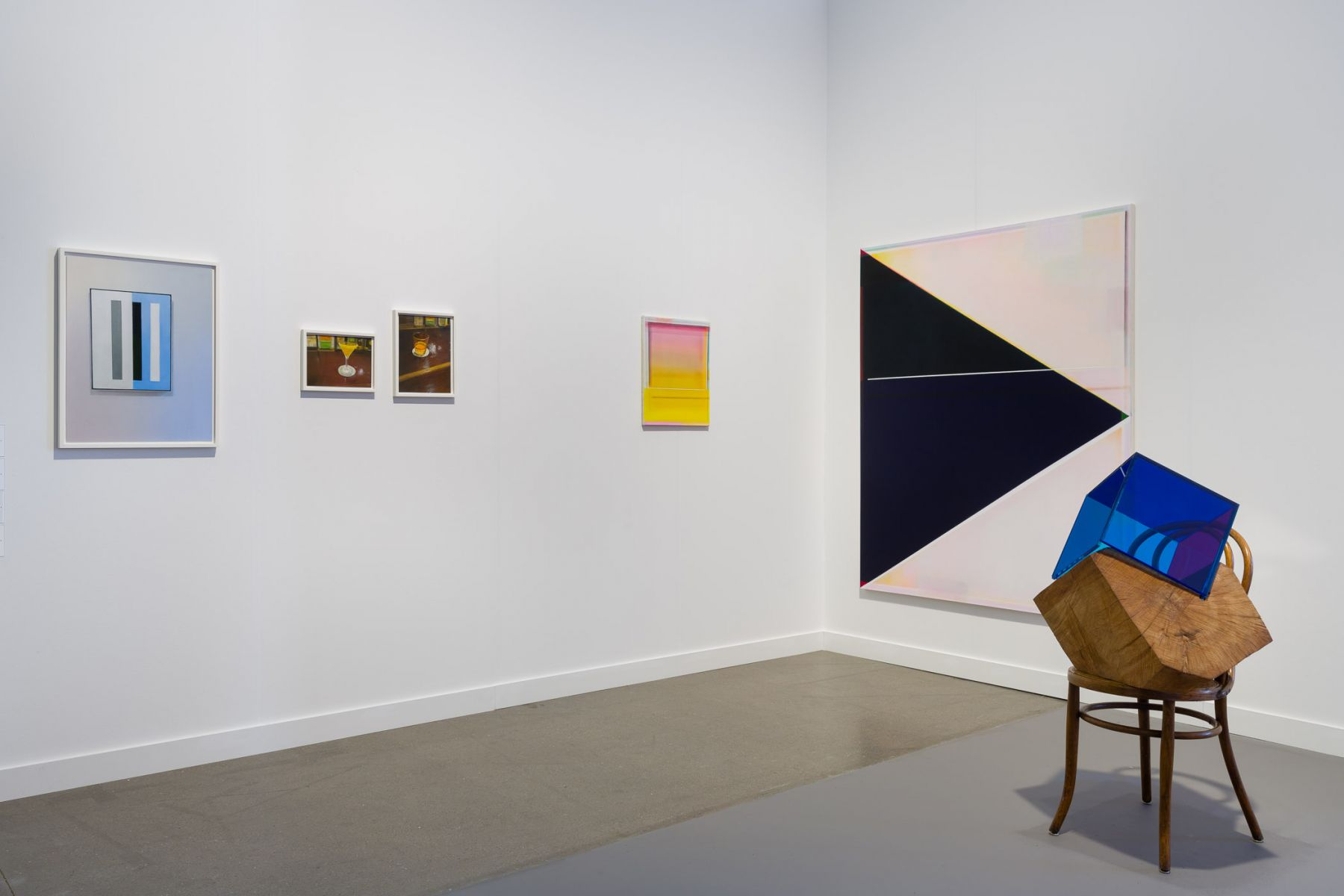 Exhibition view of LINN LÜHN at Independent New York, 2018.