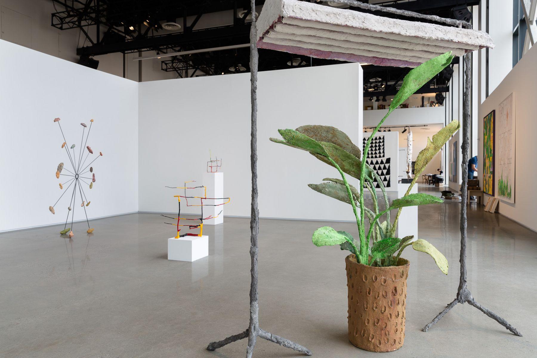 Evan Holloway Exhibition View David Kordansky Gallery, Independent New York 2016.