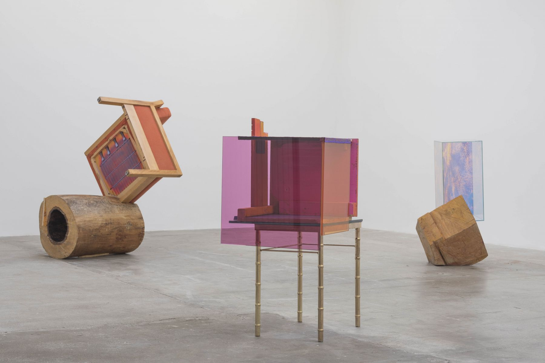 , Exhibition view Sarah BramanIn Spite of Ourselves,LinnLühn2017/18