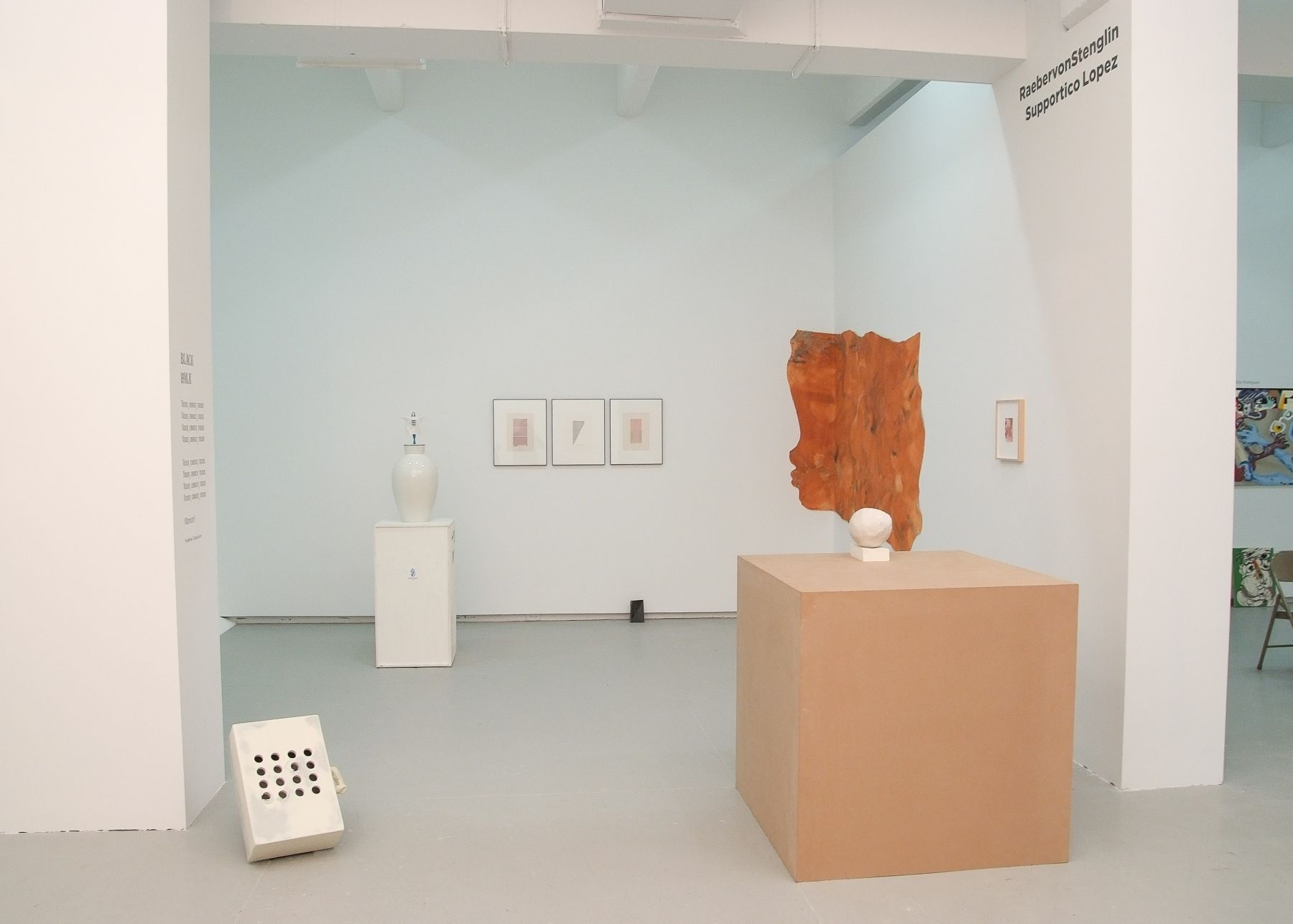 Supportico Lopez at Independent New York, 2012, exhibition view
