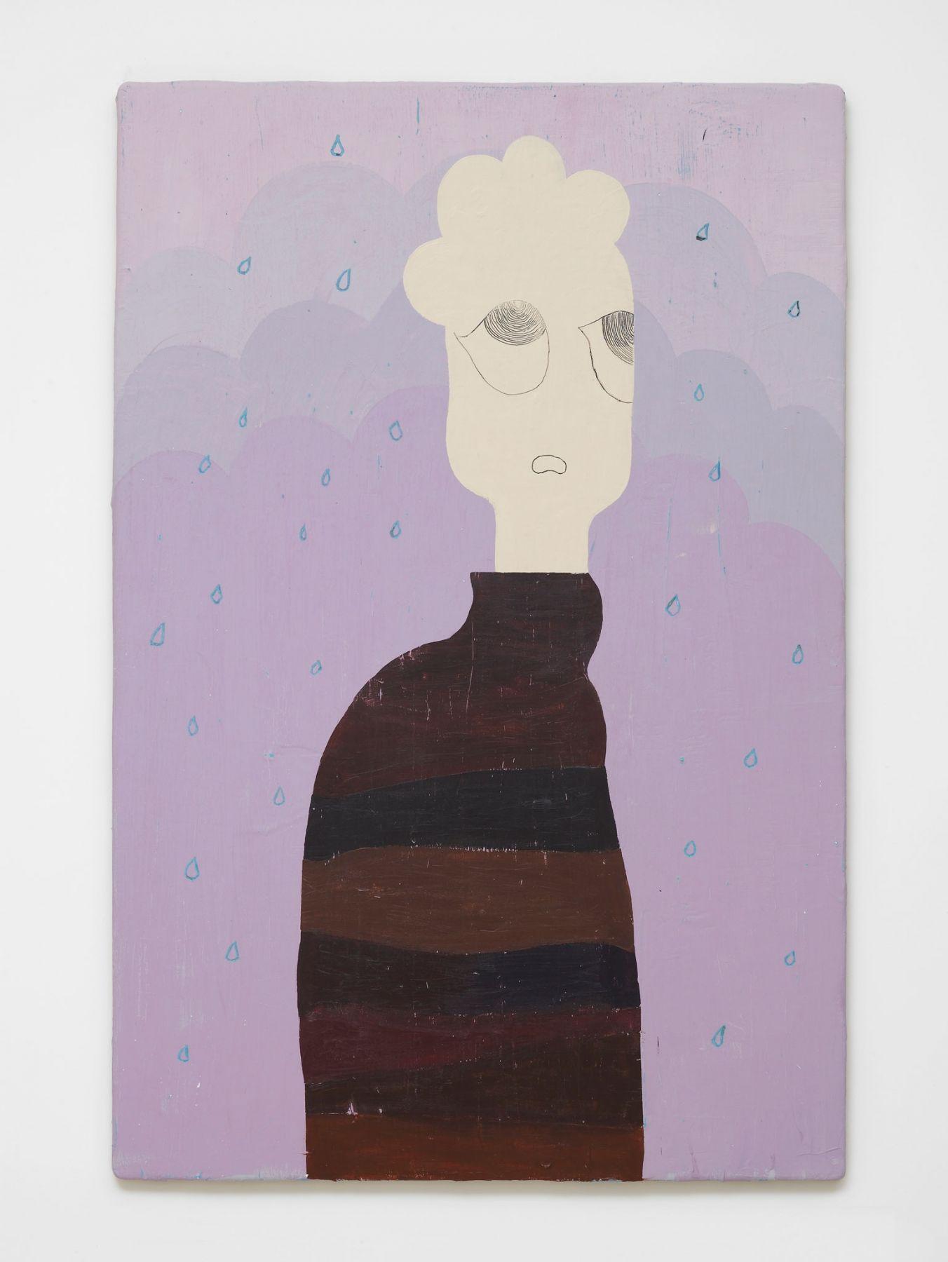 Nel Aerts Mrs. Dream On, 2014 Acrylic on wood 122 x 81.5 cm(NA30)
