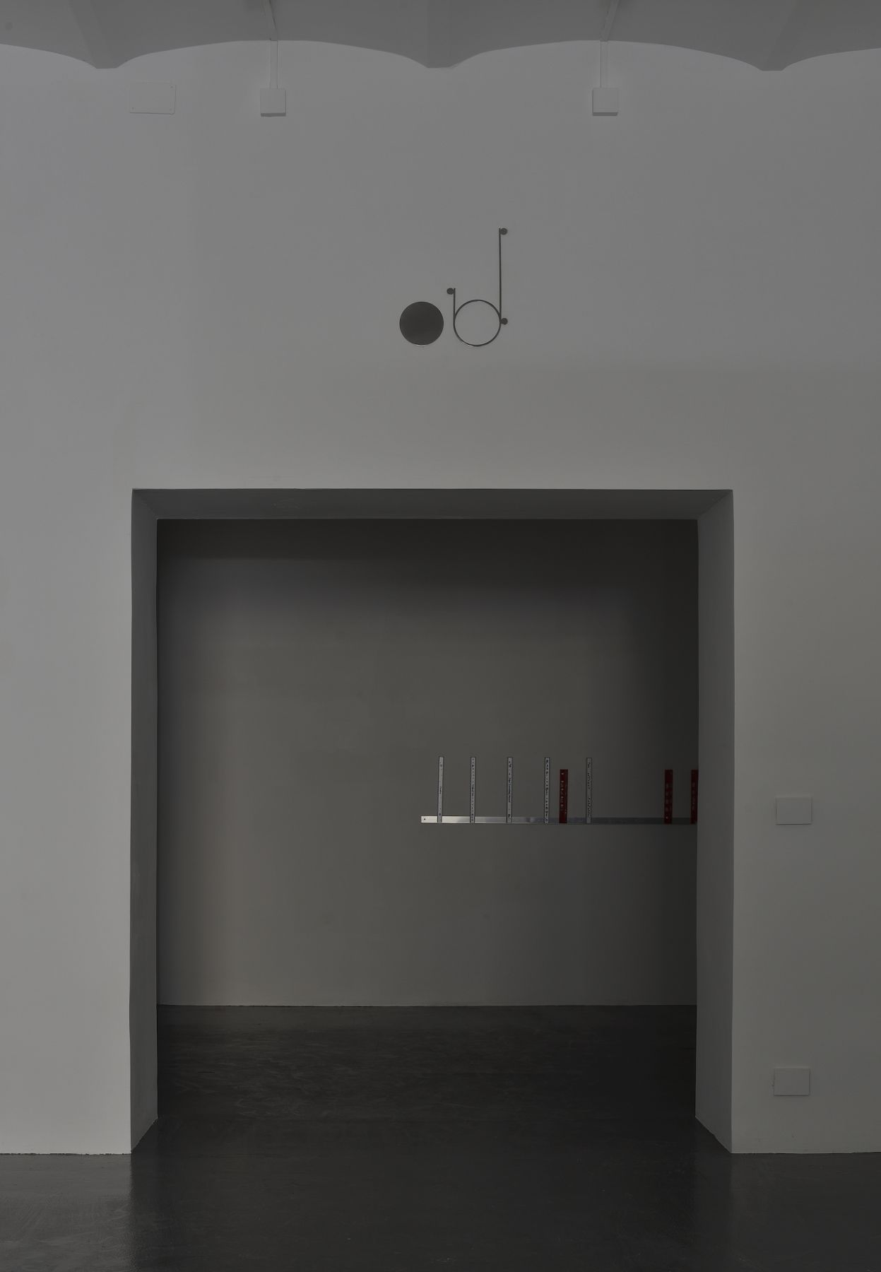 Nick Bastis - Sentries 2017 exhibition view