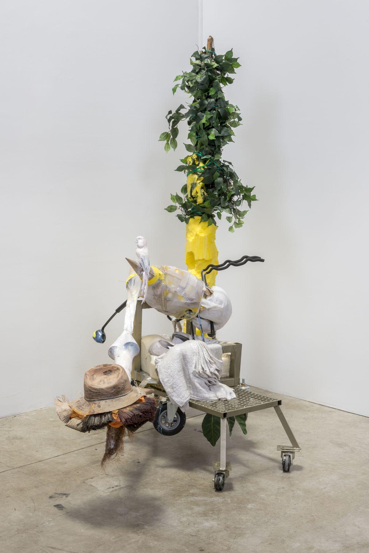 "Lizzie Fitch / Ryan Trecartin, ""Flock Wipe"", 2015"