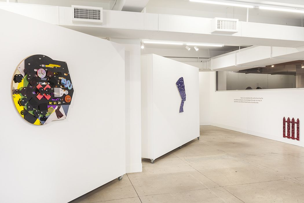 "Damien Davis Installation view of the exhibition ""This Ain't No Disco"" 2018"