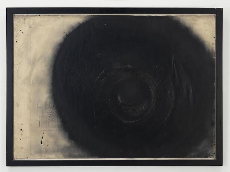 ALDO TAMBELLINI A-11, from the Black Energy Suspended Series, ca. 1989