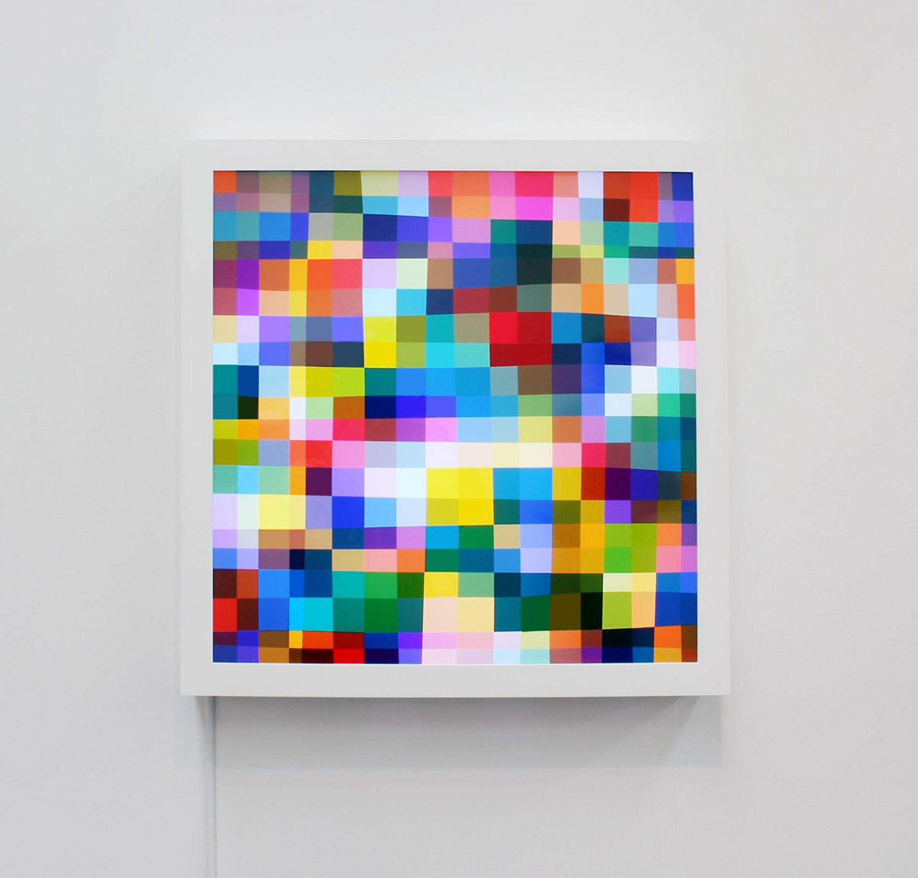 SPENCER FINCH Color Test (360)