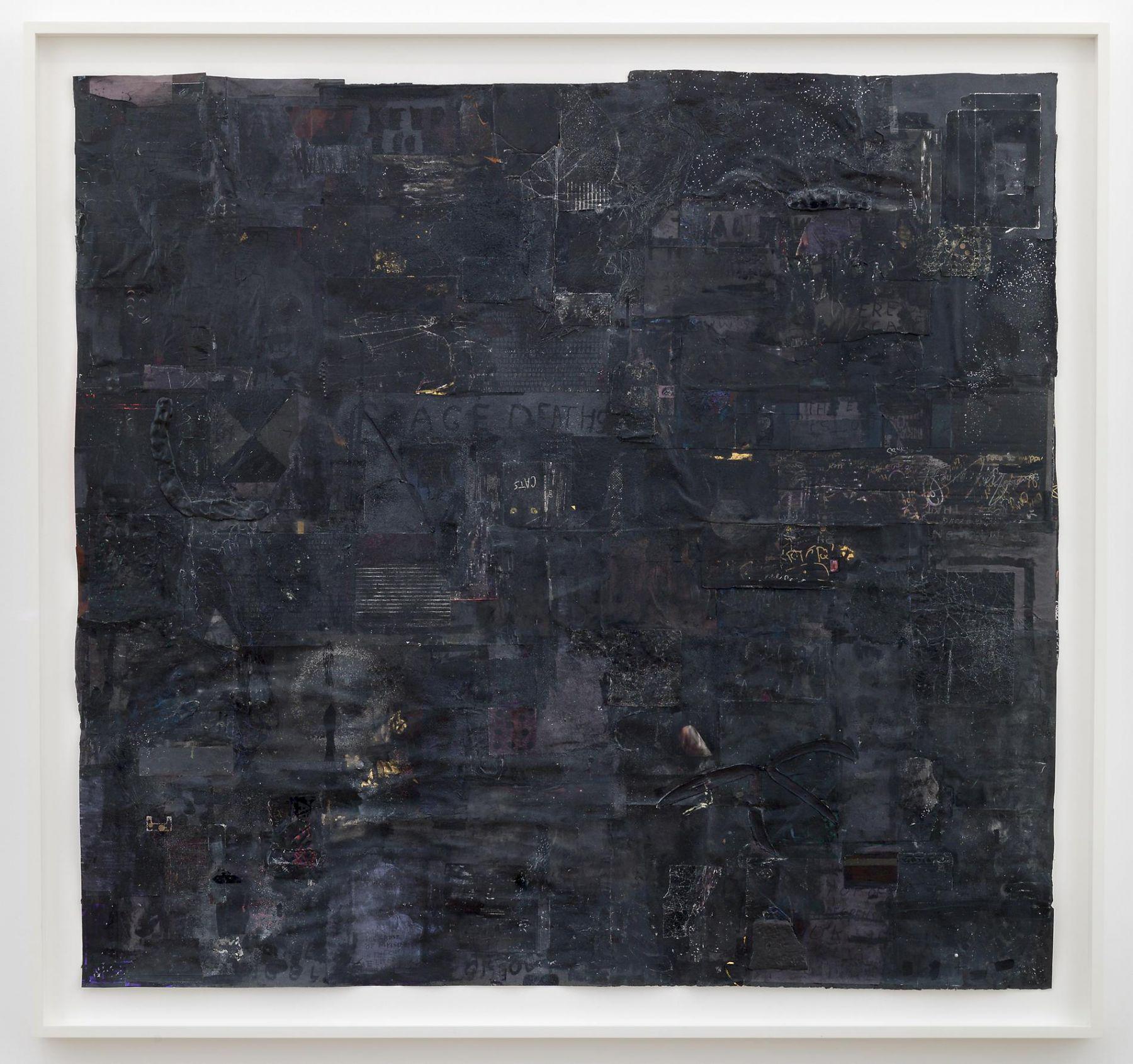 SIMON EVANS Untitled (Black Picture)