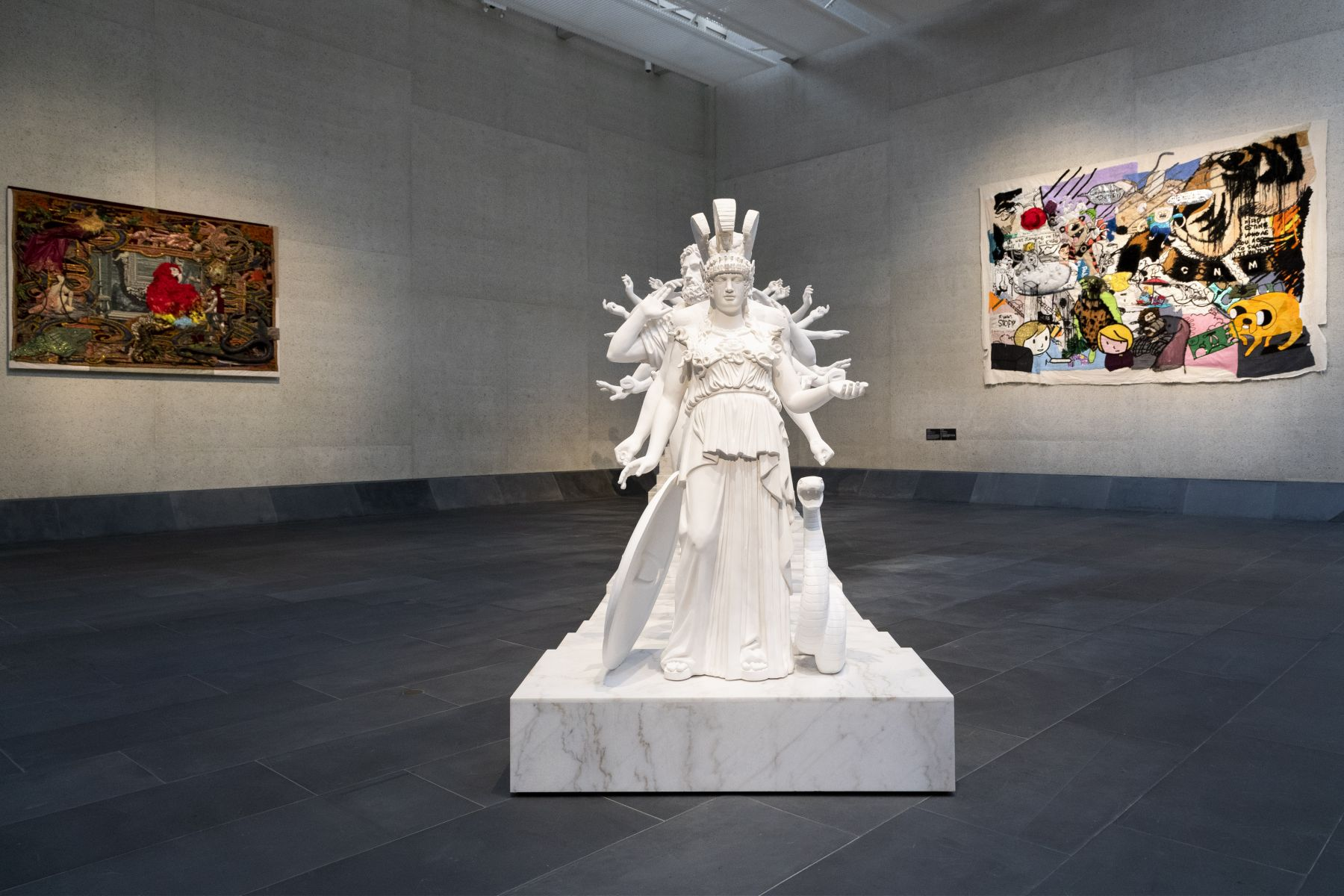 XU ZHEN ®, European Thousand-Arms Classical Sculpture,2014-2015
