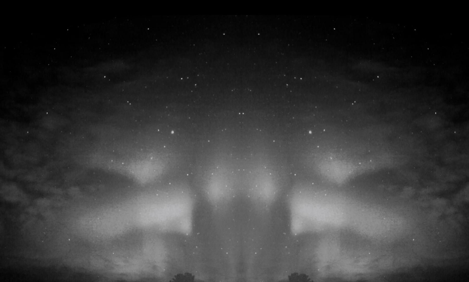 , HIRAKI SAWA Aurora, 2013 Single channel black and white video with custom monitor Duration: 1 minute 30 seconds Edition of 8