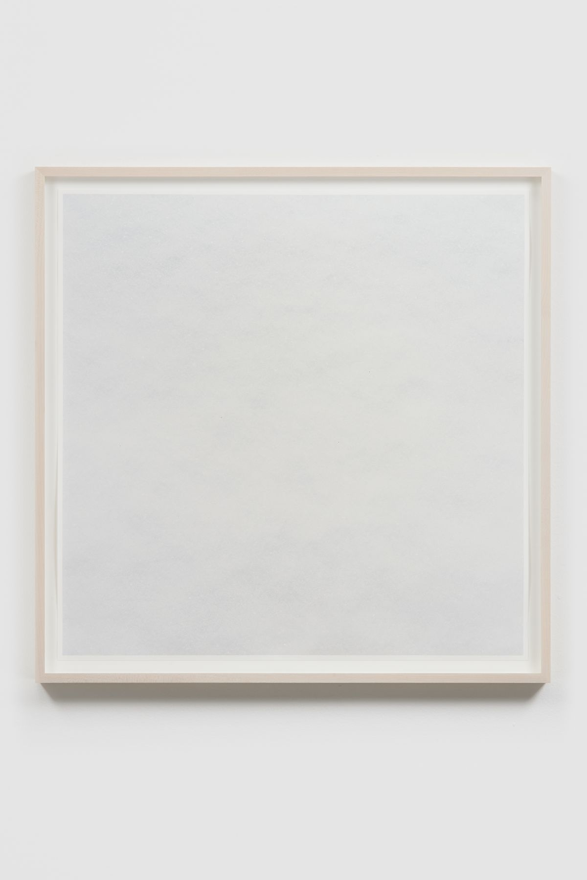 SPENCER FINCH, The Impossibility of White (snow)