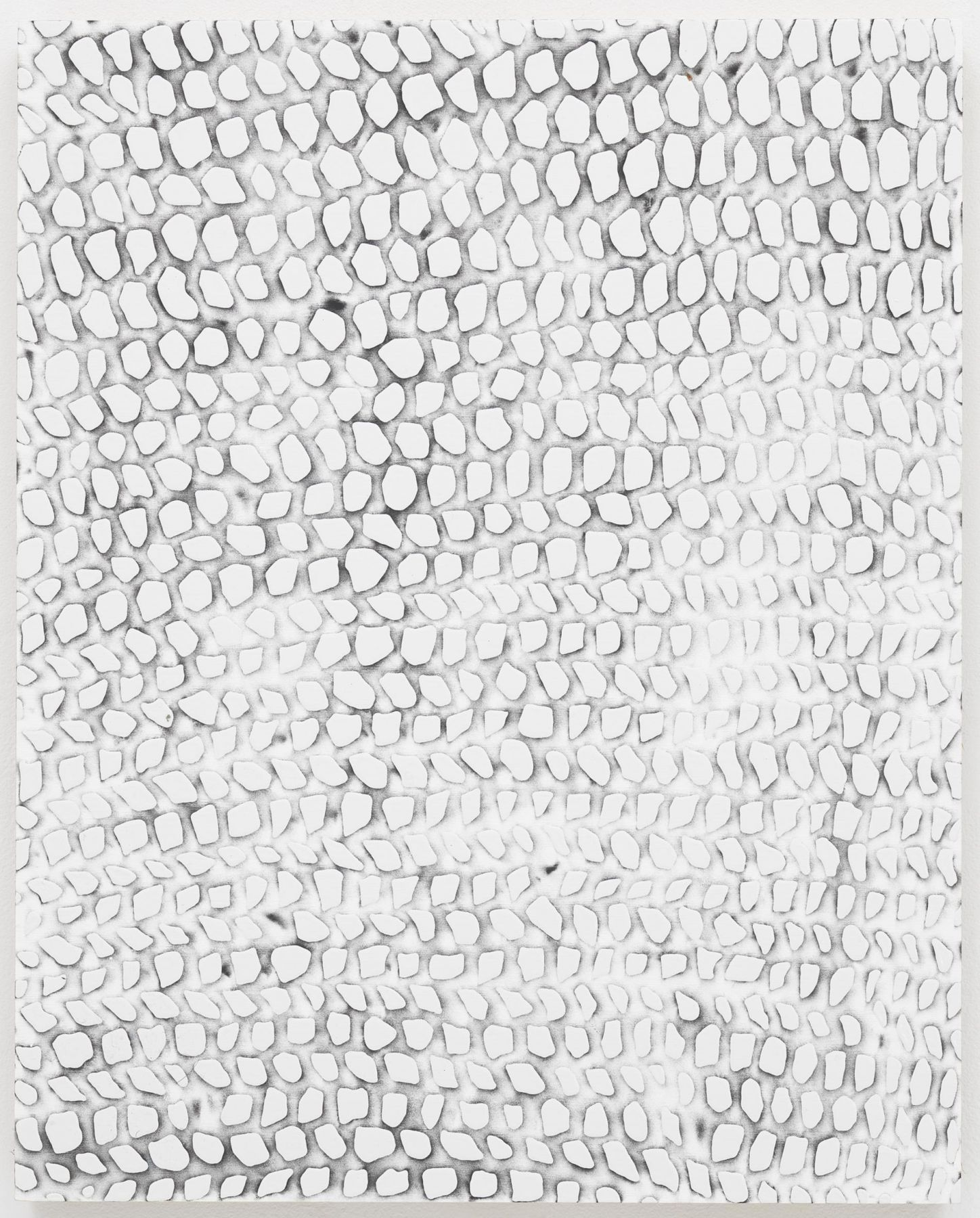 , MICHELLE GRABNERUntitled,2014Enamel on panel20 x 16 x 7/8 in. (50.8 x 40.6 x 2.2 cm)
