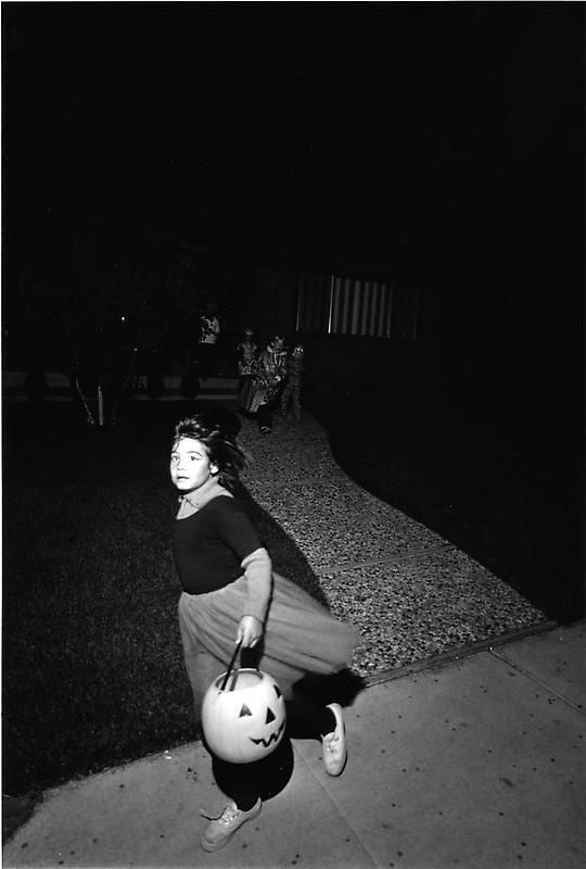 BILL OWENS Untitled [Halloween, Livermore, CA.], ca. 1971 (printed 2008)