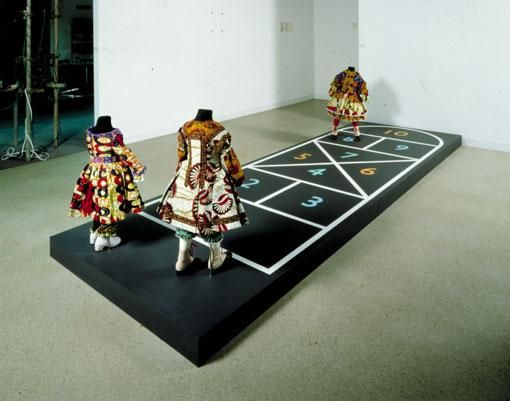 YINKA SHONIBARE Hopscotch, 2000