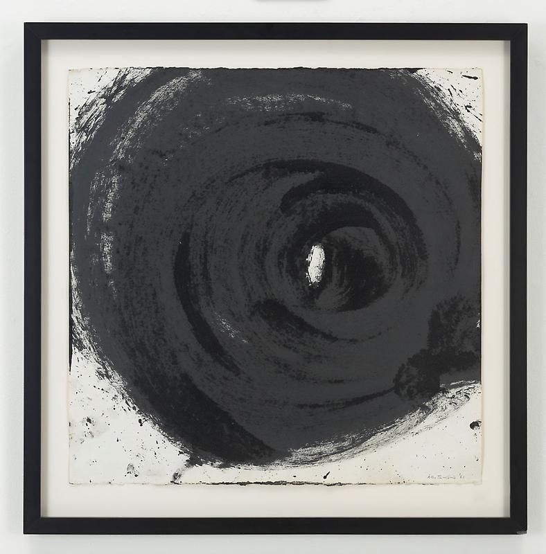 ALDO TAMBELLINI Black 5, To Be Enveloped by Black, 1961