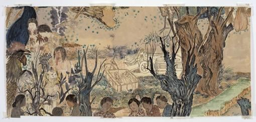 YUN-FEI JI Nine Women, 2006.