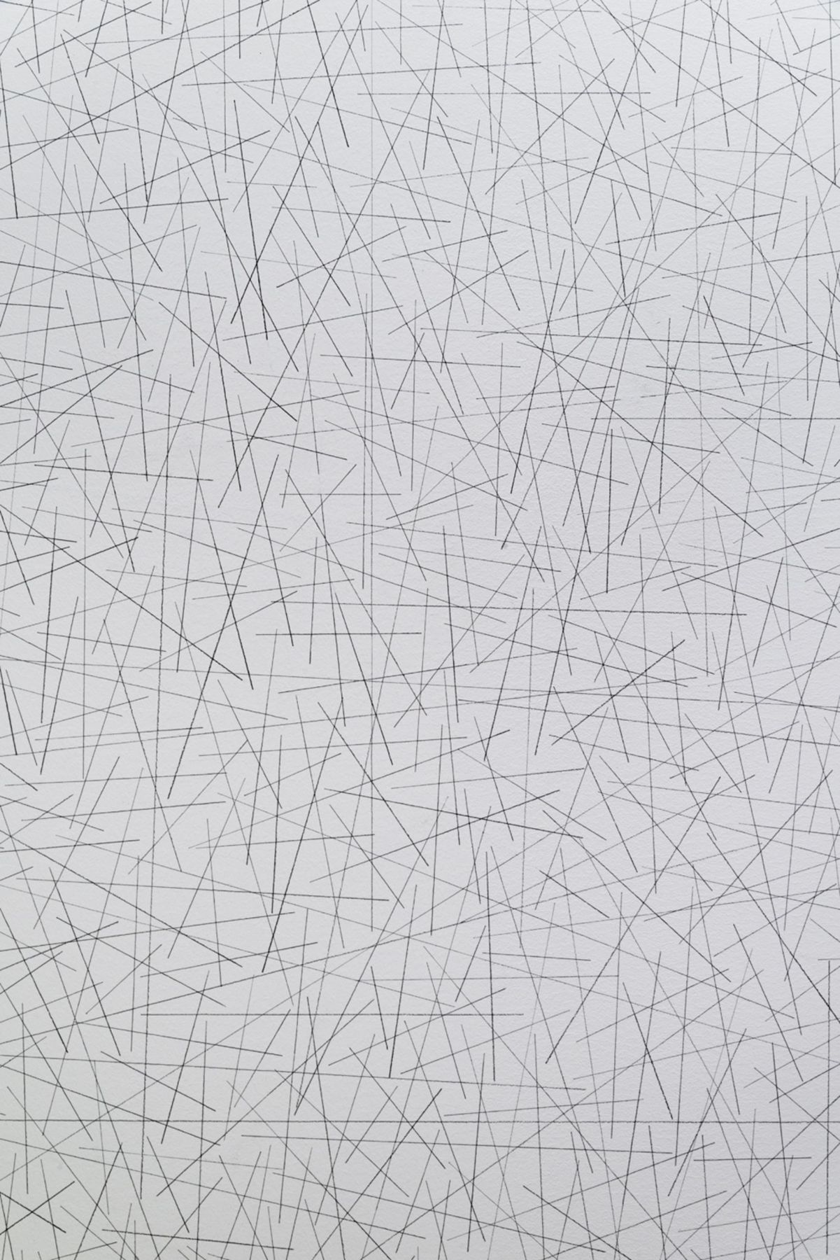 , SOL LEWITT Wall Drawing #59 (detail), 1970 Black pencil 120 x 120 in. (304.8 x 304.8 cm) Courtesy of the Estate of Sol LeWitt and Paula Cooper Gallery, New York