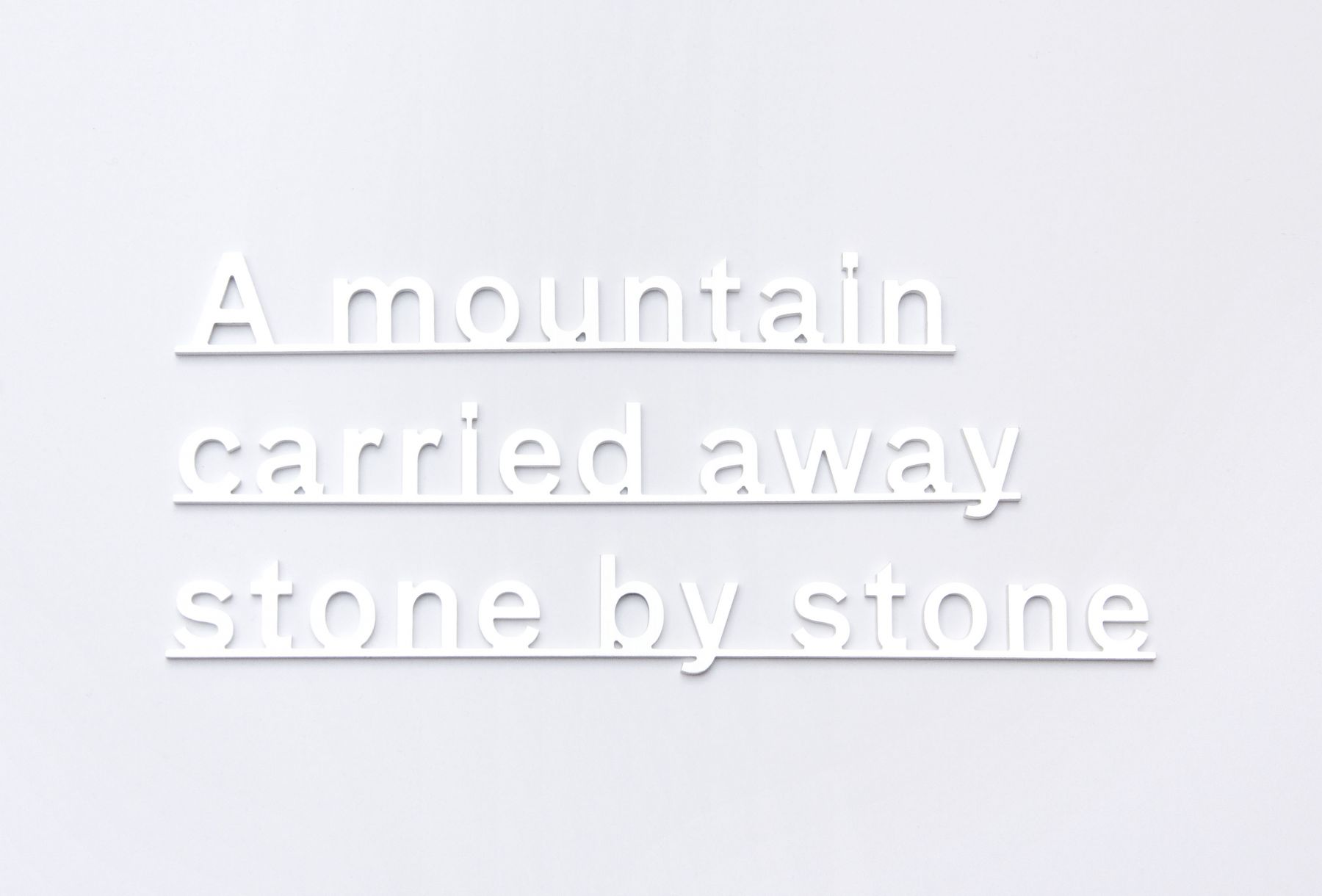KATIE PATERSON Ideas (A mountain carried away