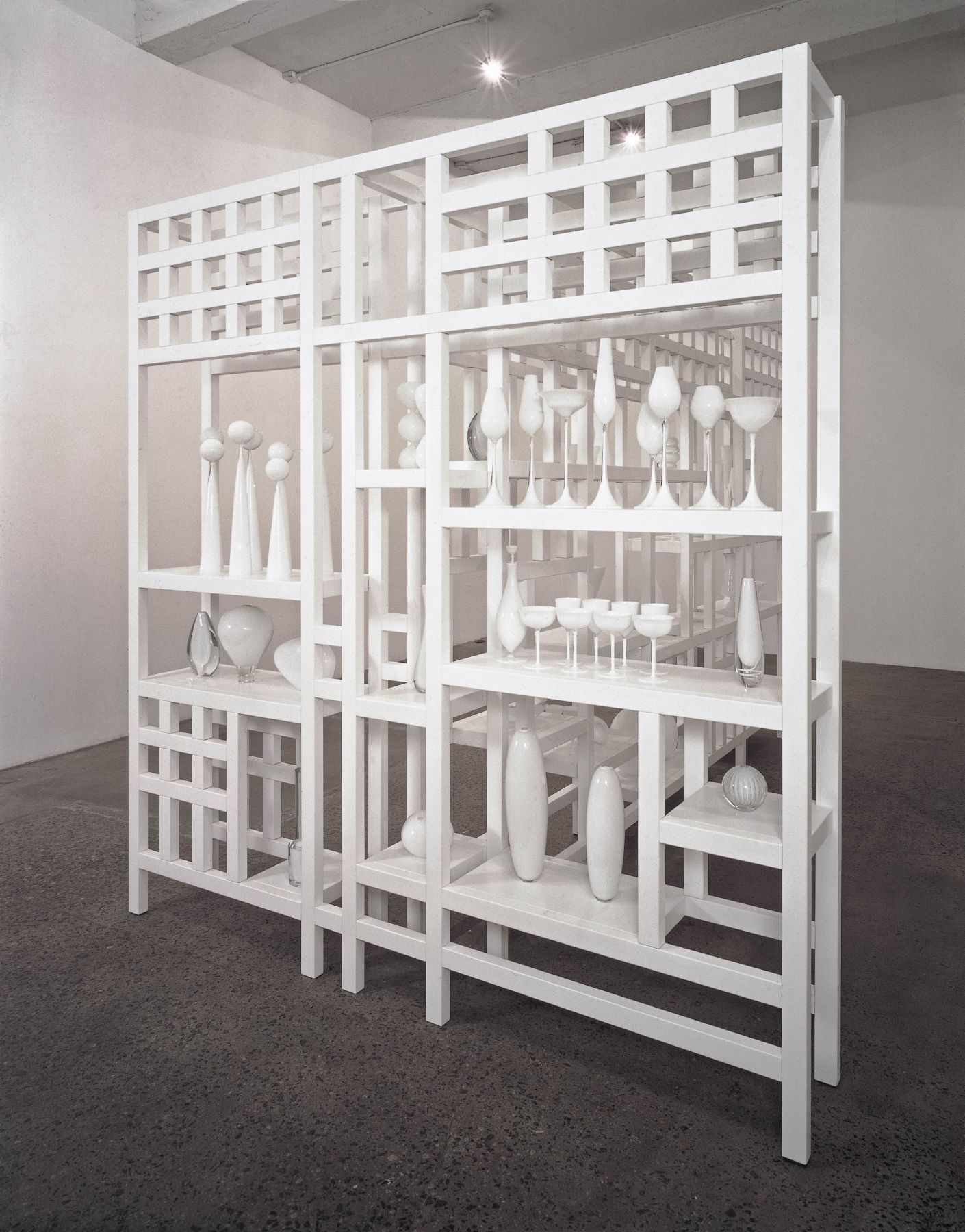 JOSIAH McELHENY, Untitled (White)
