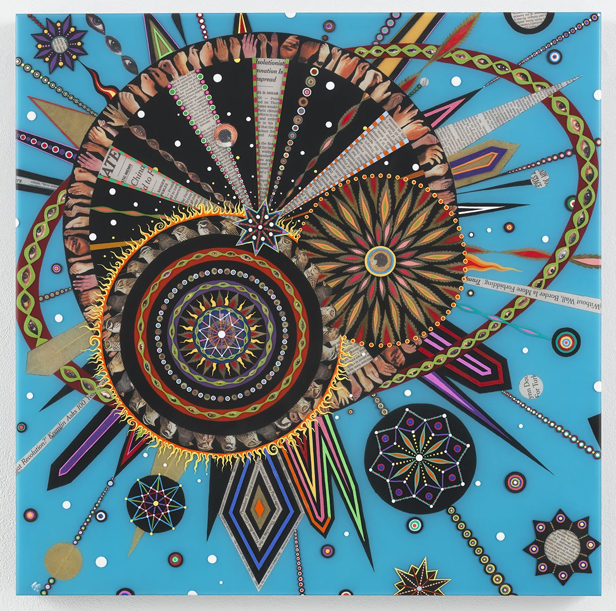 FRED TOMASELLI Untitled