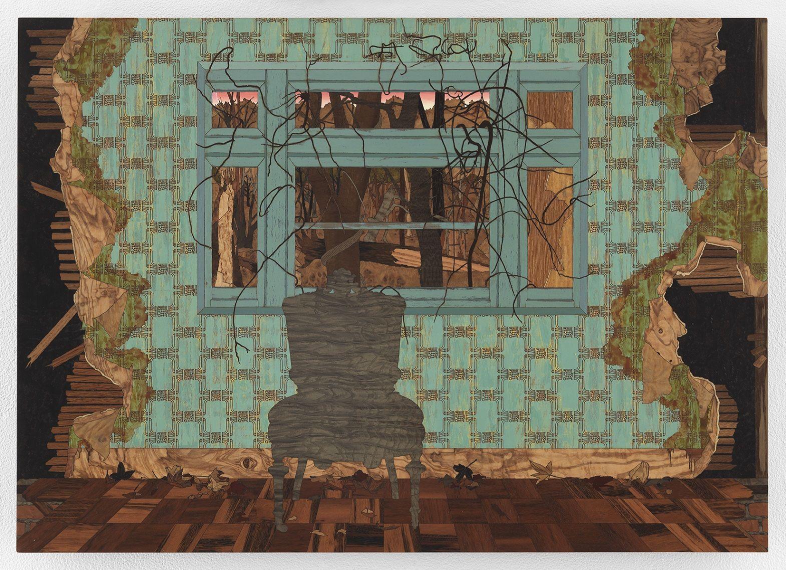 ALISON ELIZABETH TAYLOR, Study for Wall B