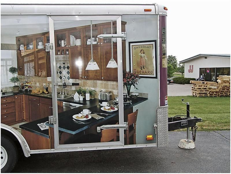 BILL OWENS Custom Kitchen Cabinet Trailer, TN, 2006