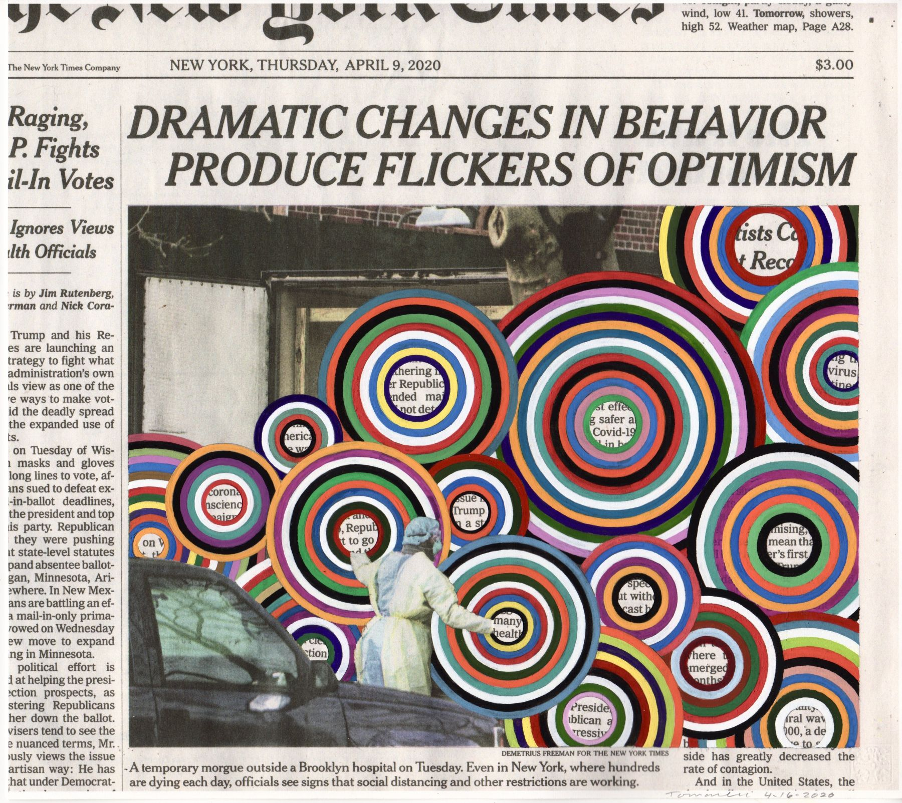 FRED TOMASELLI April 9, 2020