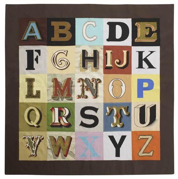 PETER BLAKE Alphabet, 2008