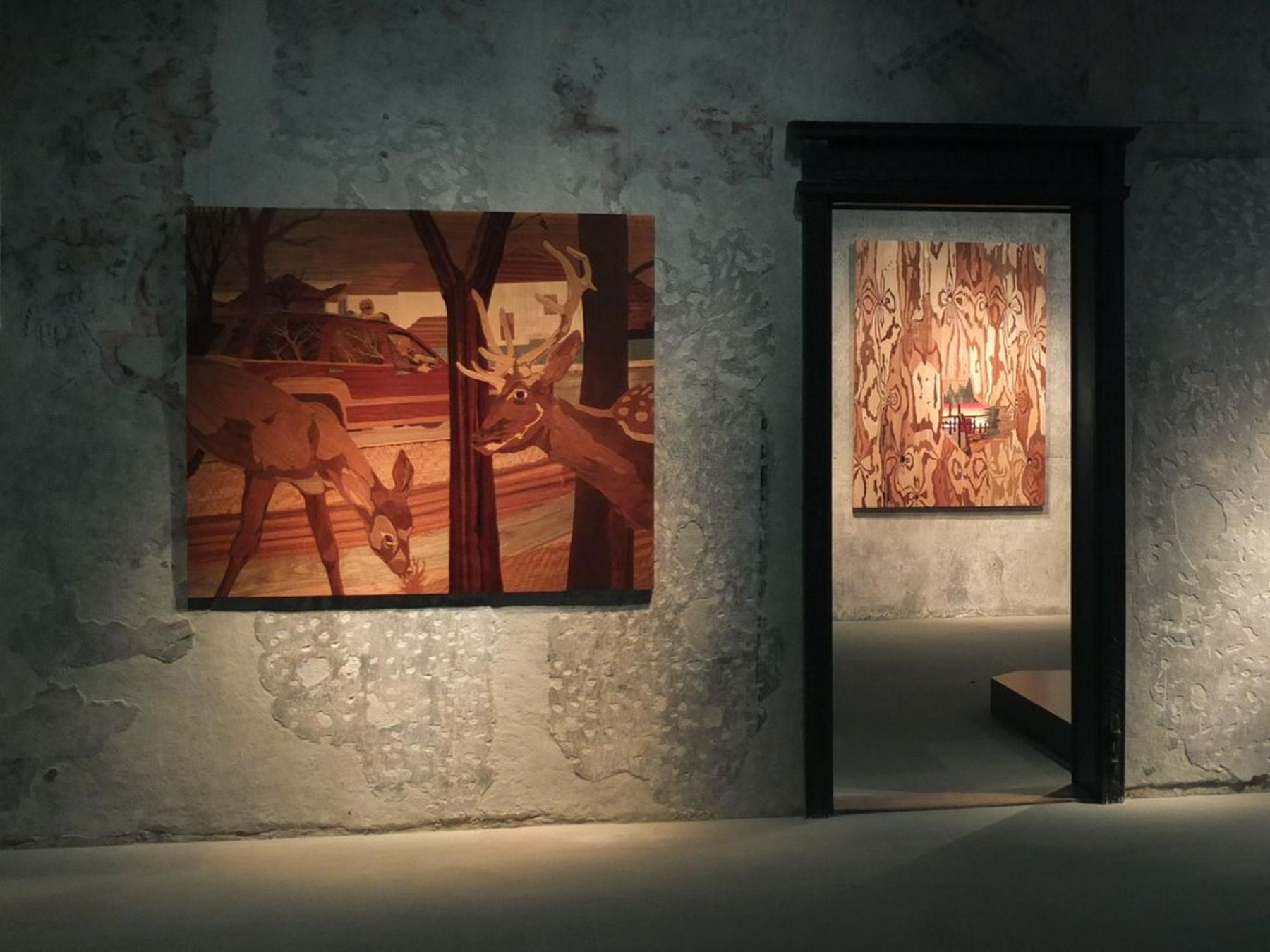, Exhibition view at Chateau Nyon