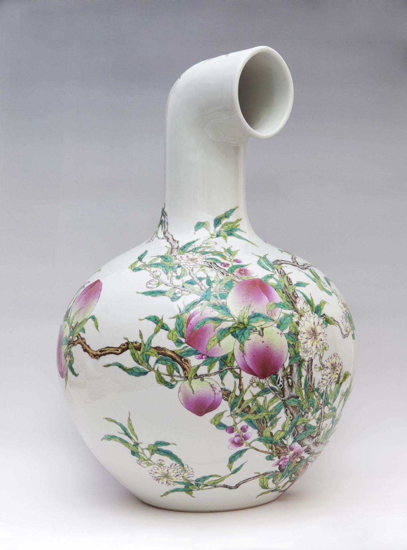 , Vault-of-Heaven Vase,2013,Porcelain,22 13/16 x 16 1/2 x 16 1/2 in.