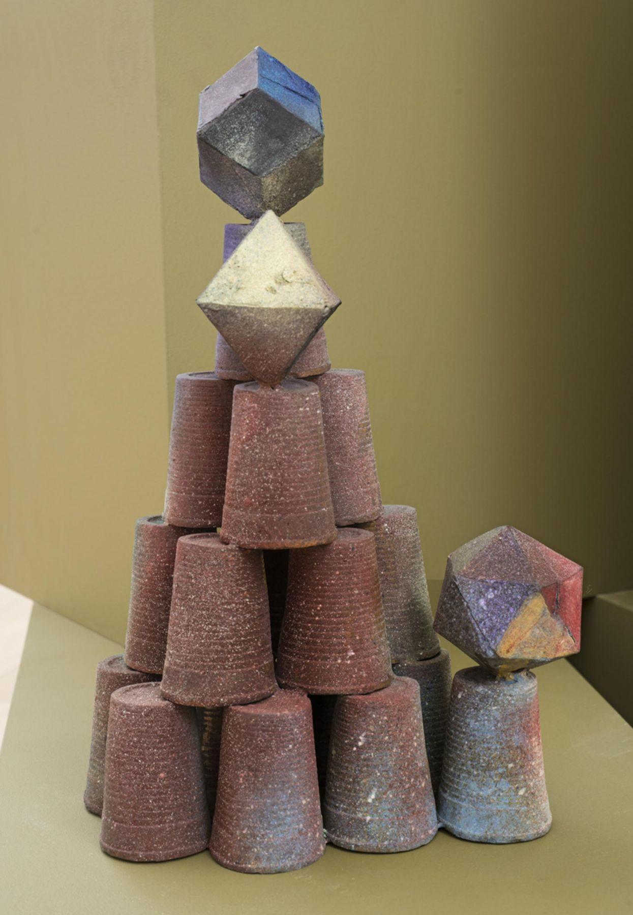 , FOLKERT DE JONGAct of Supremacy,2014Patinated bronze15 11/16 x 11 3/4 x 7 13/16 in.