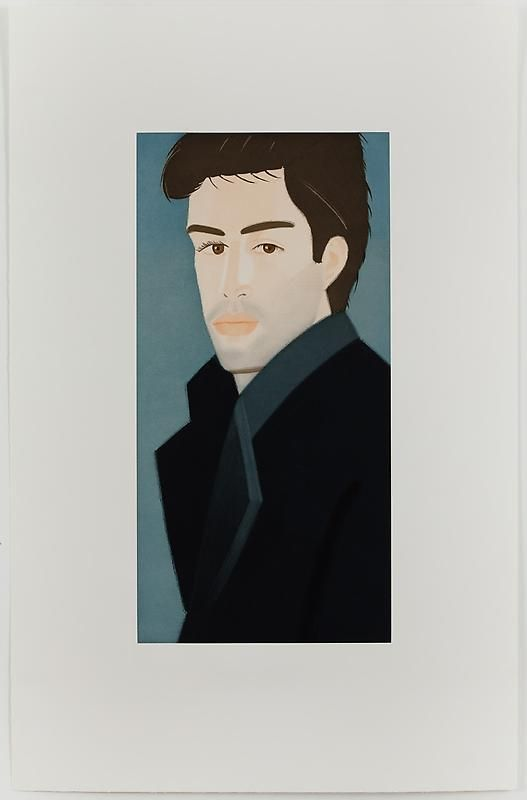 ALEX KATZ Blue Coat (Vincent) 蓝衣(文森特), 1993