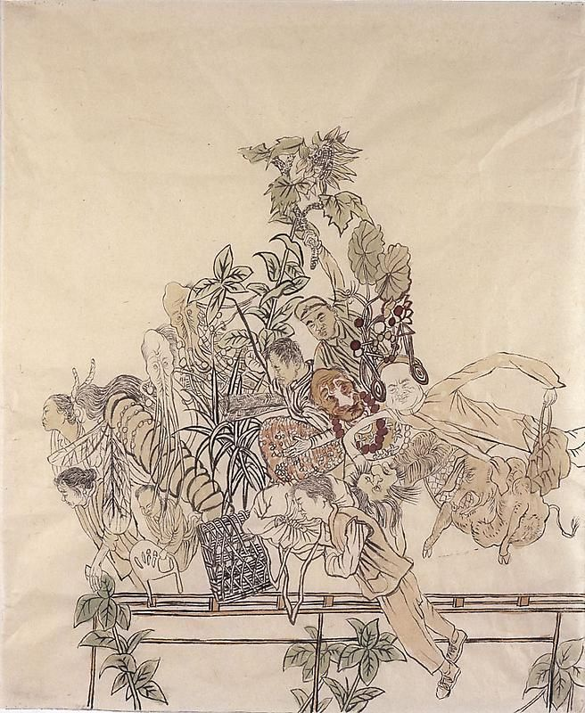 YUN-FEI JI Sweeping Wind, 2009