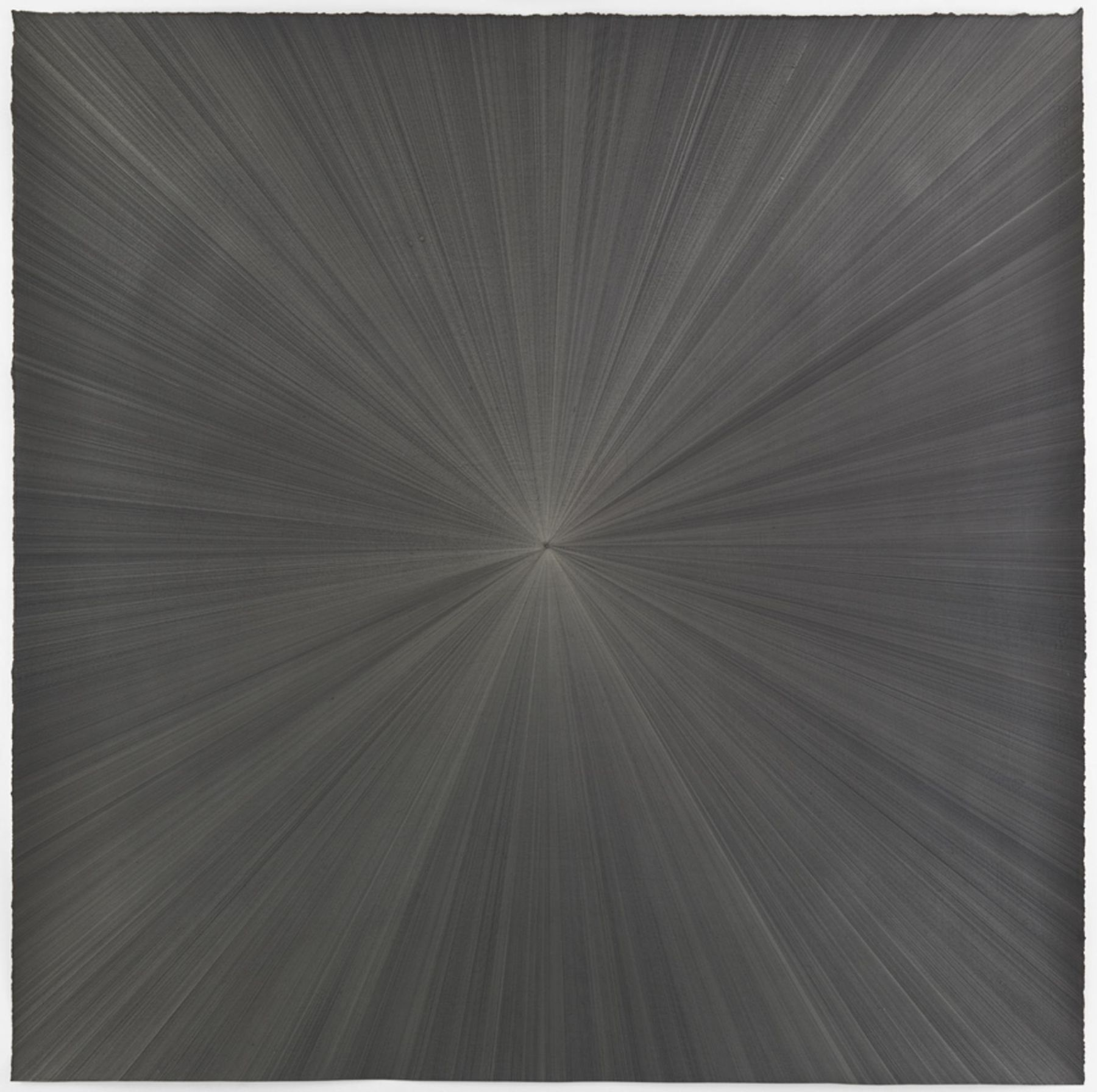 , MICHELLE GRABNER, Untitled, 2014 Gold point and gesso on paper 48 x 48 in.