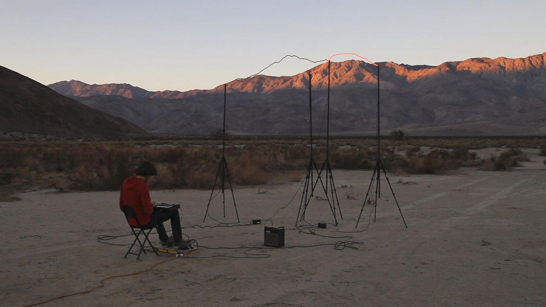 , RICHARD T. WALKER outside of all things (still), 2013 2 channel HD installation Duration: 7:51 minutes