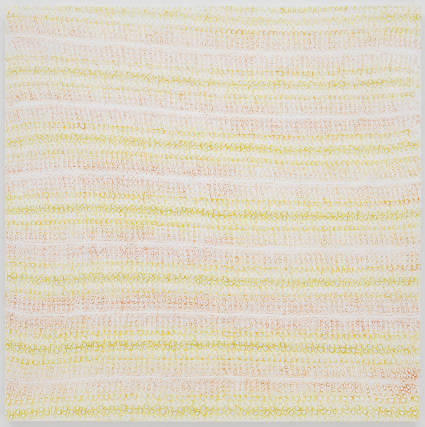 , MICHELLE GRABNERUntitled,2014Enamel on panel60 x 60 x 1 1/2 in. (152.4 x 152.4 x 3.8 cm)