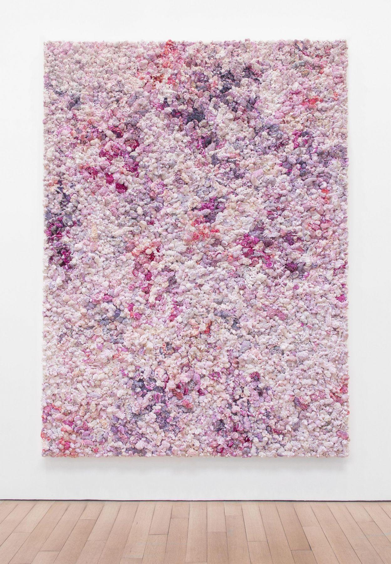 , Under Heaven -- 2808TV1512,2015,Oil on canvas, aluminum,90 3/8 x 70 3/4 x 5 1/2 in.