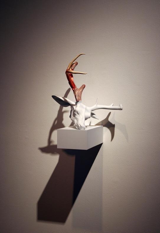 ERICK SWENSON Untitled (Velvet Horn), 2009