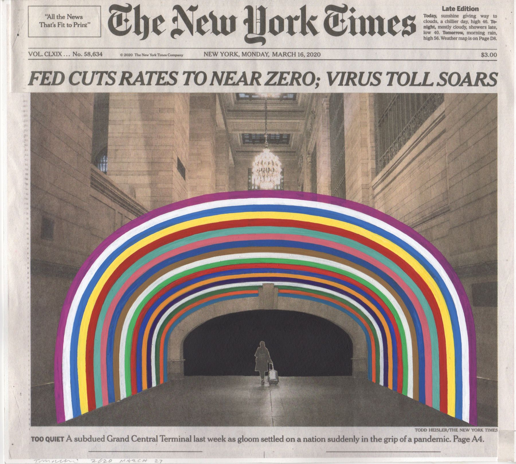 FRED TOMASELLI March 14, 2020