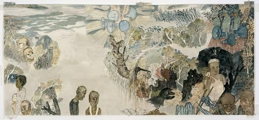 YUN-FEI JI Six Men and Two Women, 2006.
