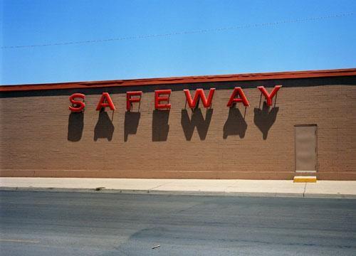 Safeway, Corpus Christi, Texas, 1983, C-print, 70 1/8 x 82 5/8 inches