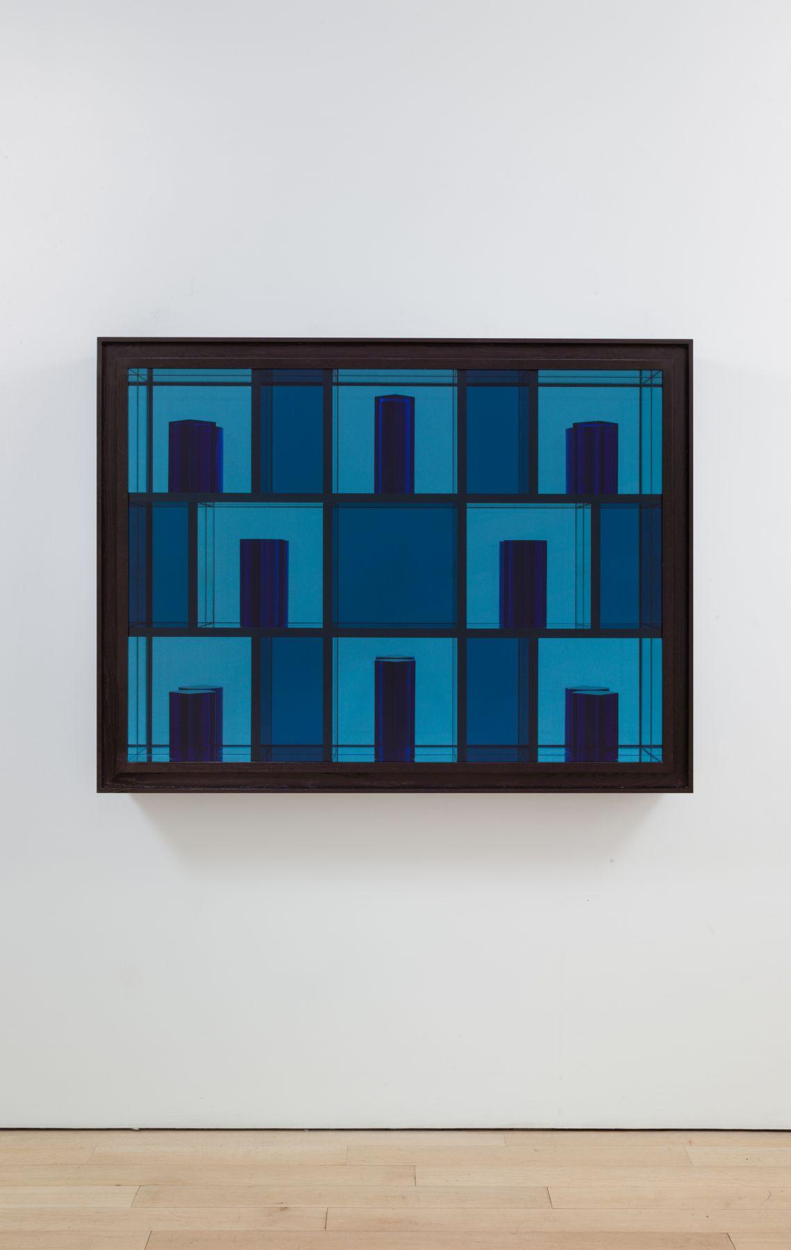 JOSIAH McELHENY Spatial Prism Painting I