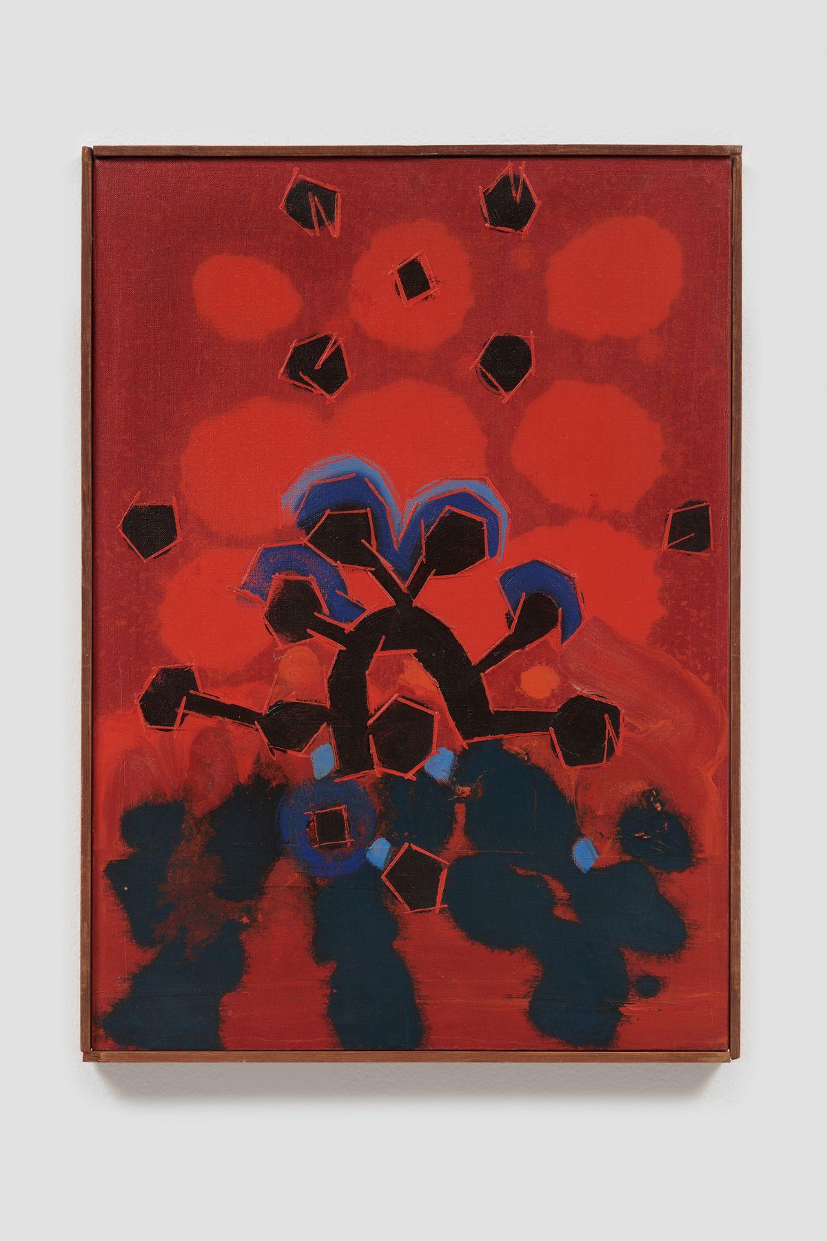 LEE MULLICAN, Dawn Awake, 1964