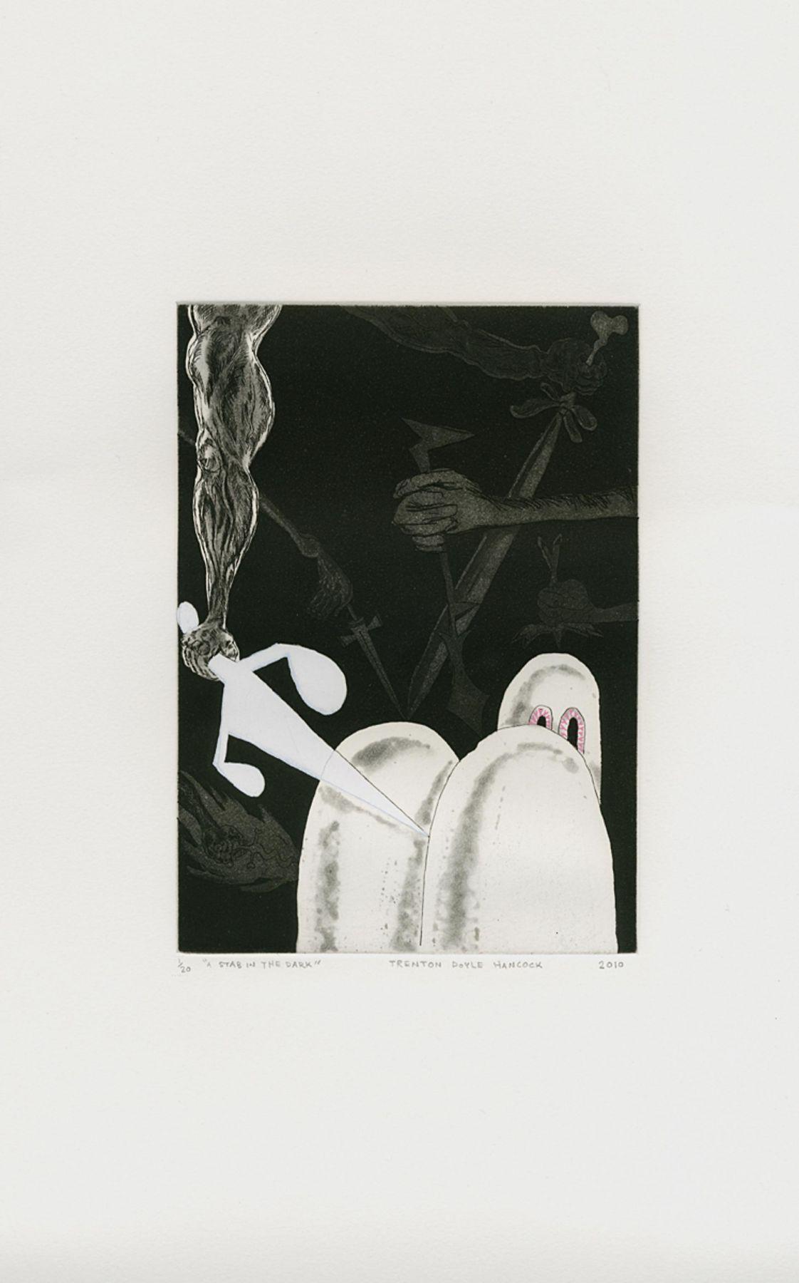 TRENTON DOYLE HANCOCK: A Stab in the Dark