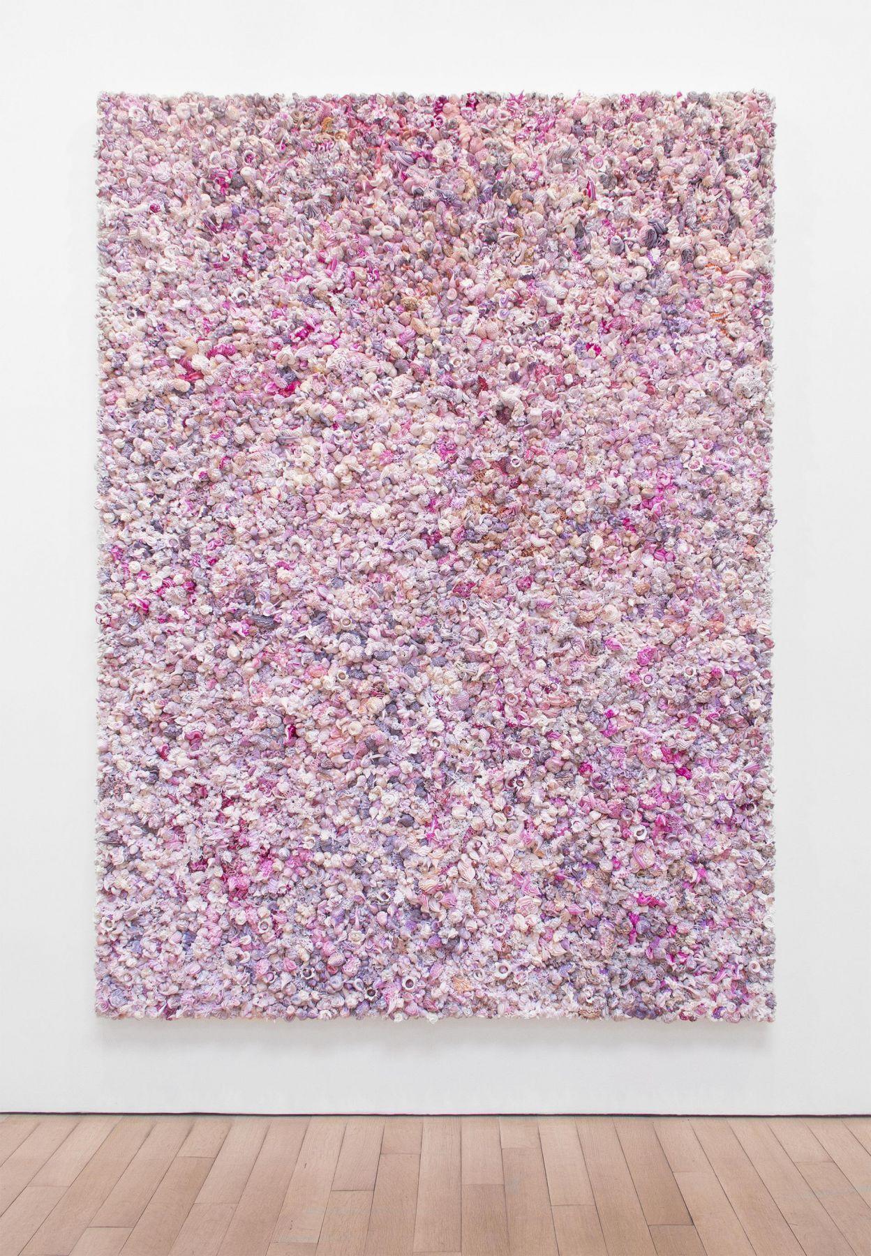 , Under Heaven -- 2808TV1412,2014,Oil on canvas, aluminum,90 3/8 x 70 3/4 x 5 1/2 in.