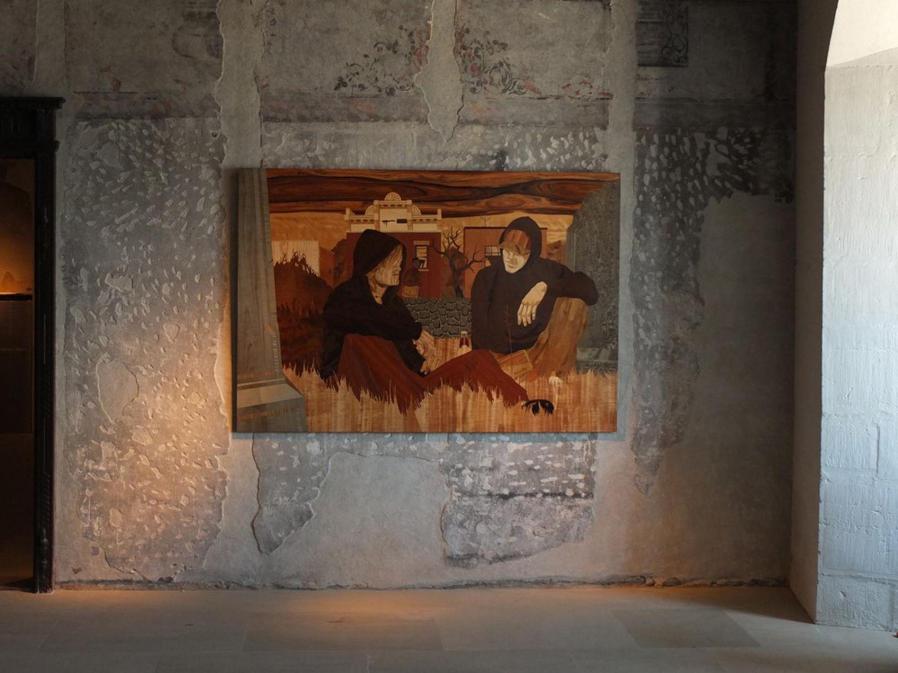 , Exhibition view at Chateau de Nyon