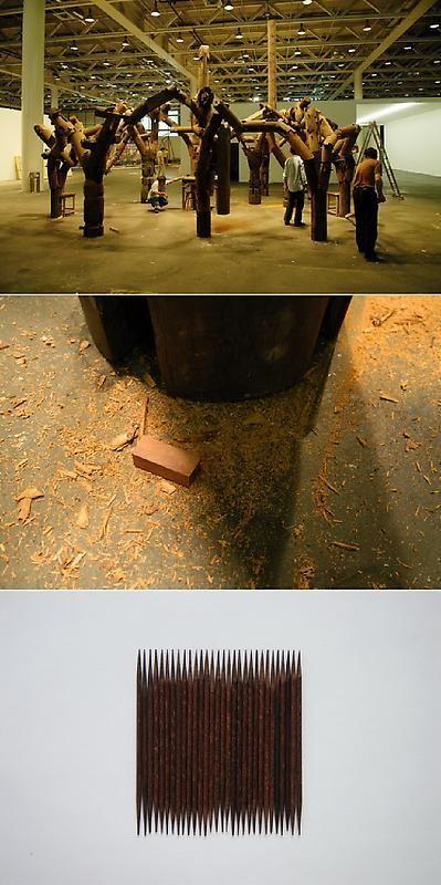ZHAO ZHAO Toothpick, 2007