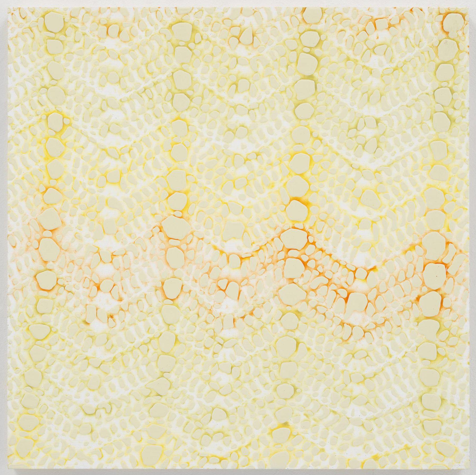 , MICHELLE GRABNERUntitled,2014 Enamel on panel 18 x 18 x 3/4 in. (45.7 x 45.7 x 1.9 cm)