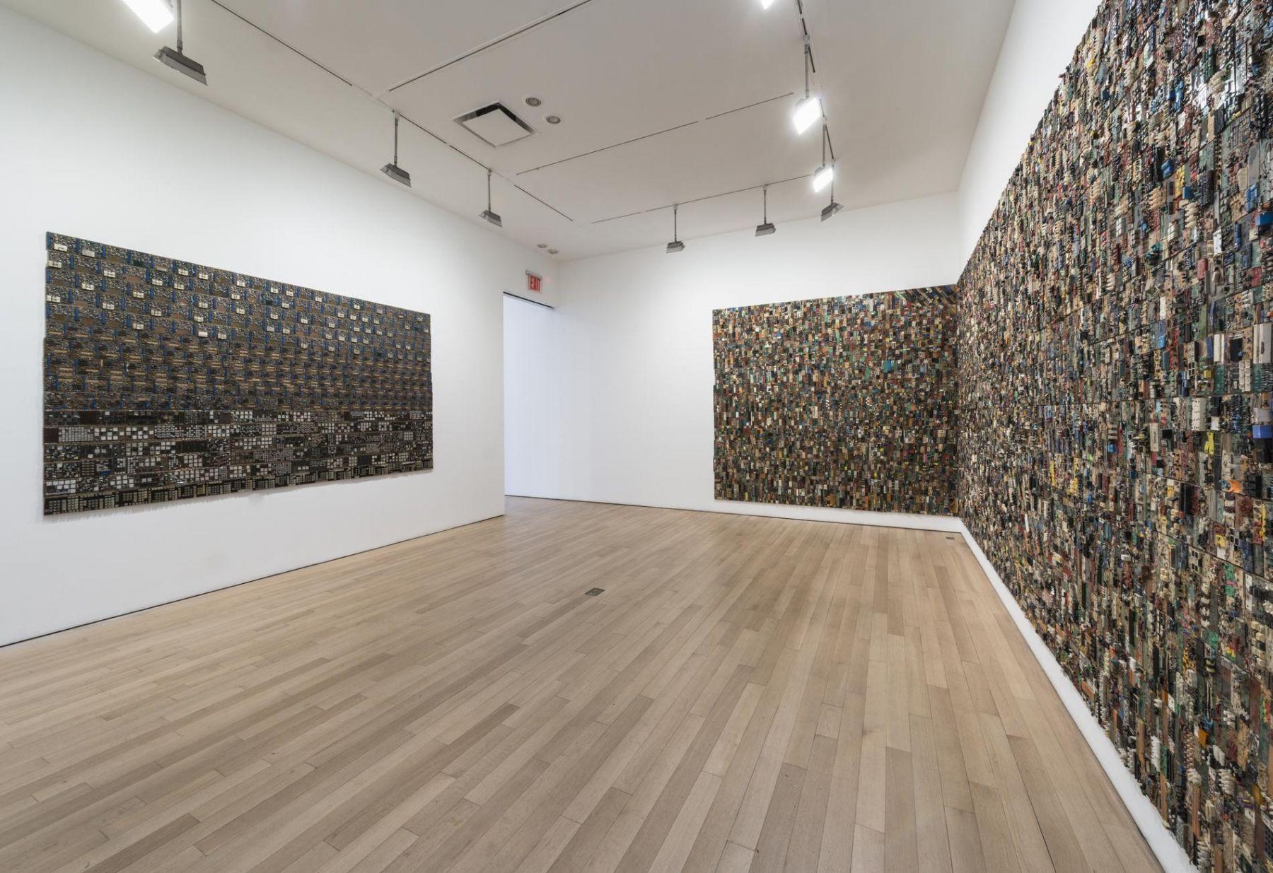 , Elias Sime: Installation view 2015. Photo: Adam Reich