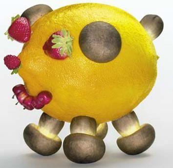 OLAF BREUNING Lemon Pig 柠檬猪, 2004