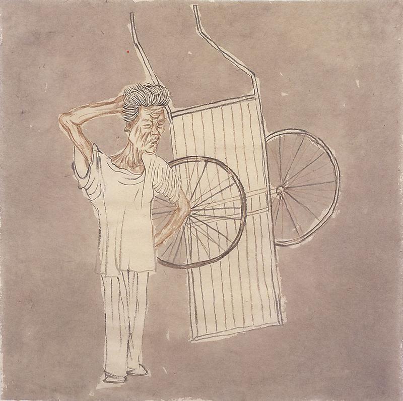 YUN-FEI JI The Stand-Up Hand Cart, 2009